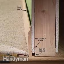 Hardwood Floor Molding How To Install Baseboard Trim Even On Crooked Walls Family Handyman