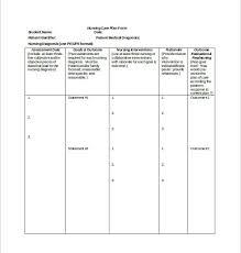 home health care plan template images sample nursing care plan