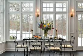 Contemporary Dining Room Windows Set Patio In Decor Intended - Dining room windows