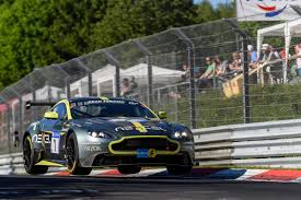 aston martin inside aston martin vantage gt8 takes honours at nürburgring 24 hours