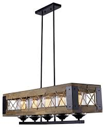 rustic kitchen island lighting wood 5 light chandelier rustic kitchen island lighting by