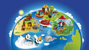 buy lego around the world multi color at low prices in india