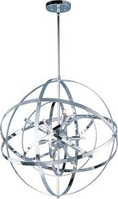 sputnik style light fixture with stylish maxim lighting 25133pc