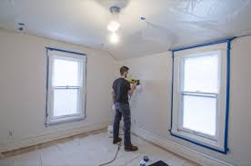 can you use a paint sprayer to paint kitchen cabinets yes you can use a paint sprayer indoors our spare room