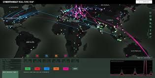 World Time Map Cyberthreat Real Time Map Online English Free