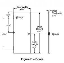 garage door common door height braille sign mounting garage