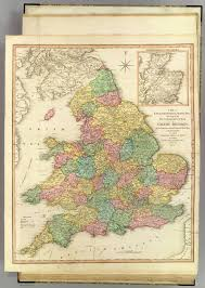 Map Of Scotland And England by England Wales Scotland David Rumsey Historical Map Collection
