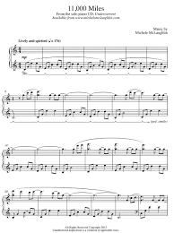 sheet music michele mclaughlin