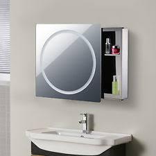 Bathroom Cabinet With Mirror by Illuminated Bathroom Mirror Cabinet Ebay