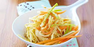 comment cuisiner du chou blanc salade rafraîchissante au chou blanc pomme et carotte facile et