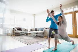 Livingroom Yoga Strength Training For Beginners
