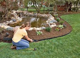 landscape edging stone lowes in clever tips and stone landscape