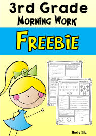 morning work for third grade third quarter morning work third