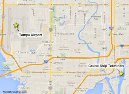Rental Cars Port Of Miami Drop Off Getting To The Tampa Cruise Port Port Transportation Cruzely Com