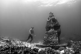 10 mysterious underwater statues red bull