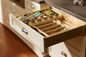 Kitchen Cabinet Interior Organizers Wide Drawers Can Multi Task With A Deluxe Drawer Organizer Ddob