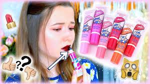 je teste le tattoo lipstick peel off beyourself youtube