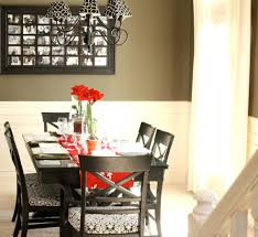 dining table decorating a dining room table for fall dining room