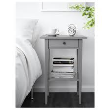 bedside table hemnes bedside table grey 46x35 cm ikea