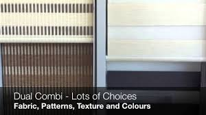 trendy blinds combi blinds window coverings bay window solution