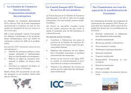 chambre de commerce internationale la chambre de commerce internationale l organisation
