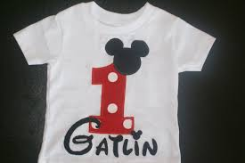 mickey mouse 1st birthday shirt mickey mouse 1st birthday shirt by addisynscloset on etsy 20 00