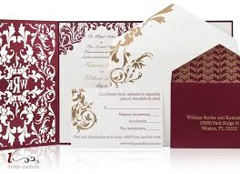 couture wedding invitations luxury laser cut wedding invitations couture wedding invitations