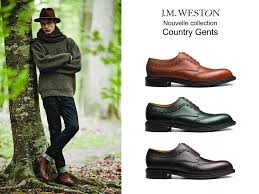 j m weston unveils a second style from the new country gents