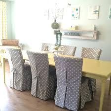 Armchair Slipcovers Design Ideas Dining Room Chairs With Slipcovers Covered Dining Room Chairs