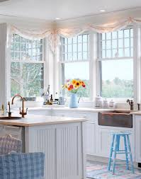 Pictures Of Kitchen Curtains by Best 25 Beach Cottage Curtains Ideas On Pinterest Beach Style