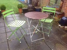 vintage shabby chic garden bistro table u0026 two chairs in york