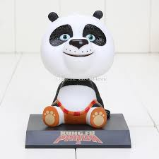 best kung fu panda bobble car ornament 10cm approx
