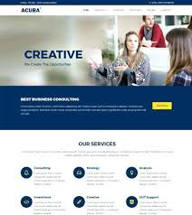 free templates for business websites business website templates free accounts corporate category