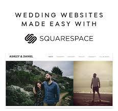 Wedding Websites Wedding Websites Made Easy With Squarespace Oncewed