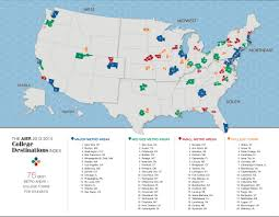 Midwest United States Map by Map The Top College Destinations In America Business Insider