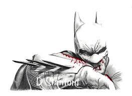 pencil sketched batman drawings how to draw batman arkham city