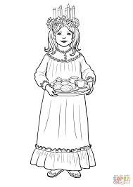 saint lucy day coloring page free printable coloring pages