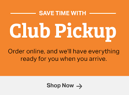 Order Online Pickup In Store by Sam U0027s Club Club Pickup