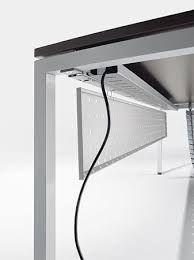 standing desk cable management cable management desks workstations omega systemtronic check