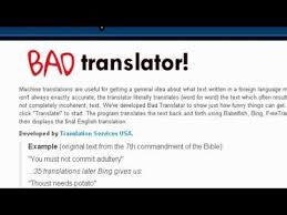 Meme Translation - bad translator know your meme
