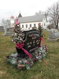 headstone decorations christmas decorations for grave site ideas about cemetery