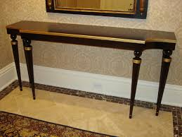 Tables For Entrance Halls Inspiration Idea Tables For Entrance Halls With Walnut Gold Entry