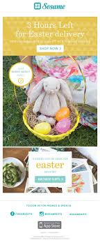 sesame easter basket easter email designs html email gallery