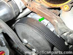 porsche cayenne serpentine belt replacement 2003 2008 pelican
