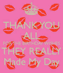 Happy Birthday Thank You Quotes Verjaardags Bedankje Celebration Pinterest Birthdays Happy