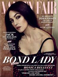 New Vanity Fair Cover The New Bond Monica Bellucci Stars At The Cover Of Vanity