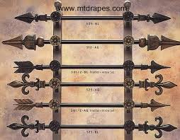 Black Iron Curtain Rod Awesome Curtains Up Drapery Hardware Rods Finials Rings Brackets