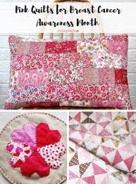 think pink 25 pink quilts for breast cancer awareness month
