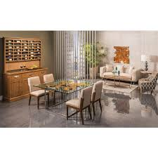 Square Dining Room Table For 4 Utica Square Dining Table El Dorado Furniture