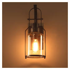 Edison Wall Sconce American Industrial Style Edison Vintage Wall Lamp Sconce E27